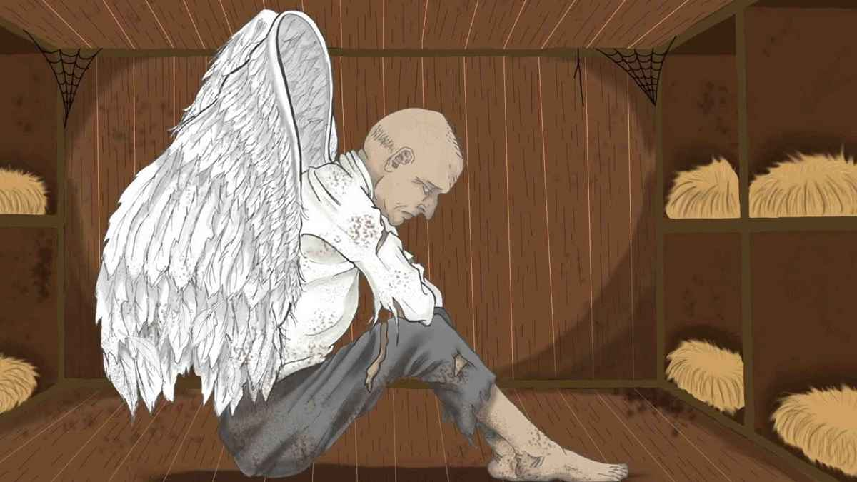 A Very Old Man With Enormous Wings Summary
